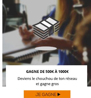 De 500 à 1000€