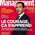 Vincent MIGNOT, DG d'Auchan France illustre le courage pour Management