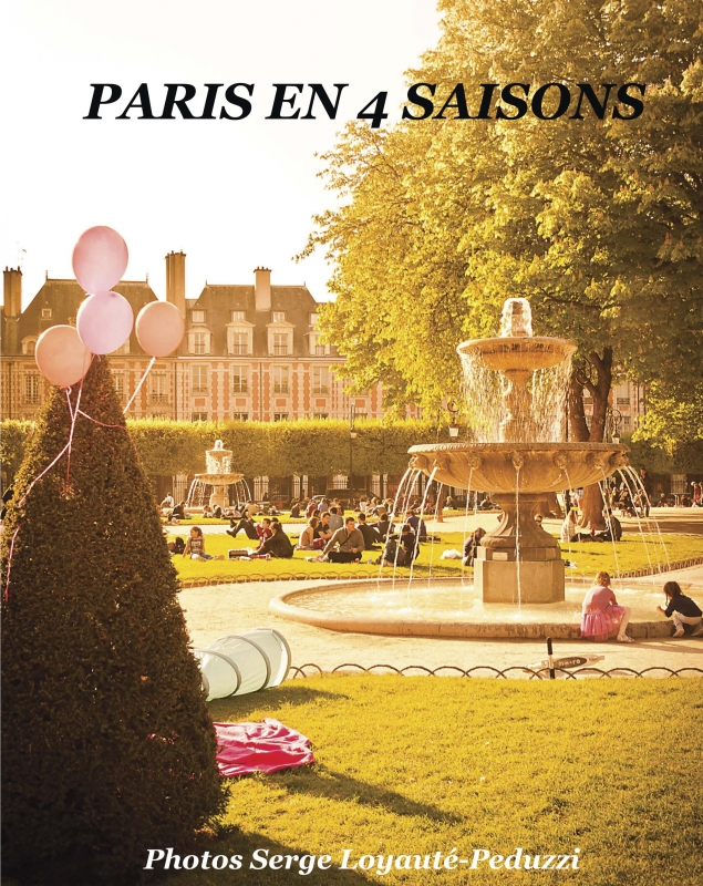 Livre de photos d'art - Paris