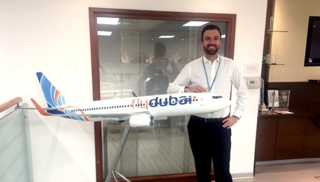 Julien LAFONT (IFAG Paris 2007) globe-trotter et analyst efficicent chez FLYDUBAI